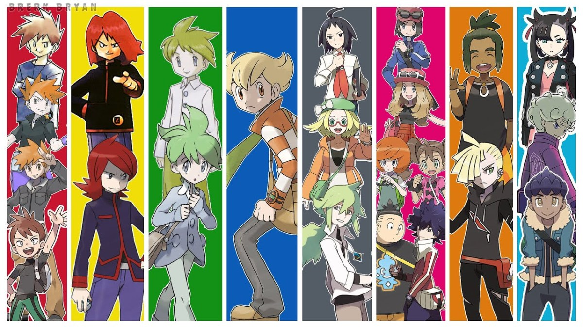 Every Pokemon Rival Ranked